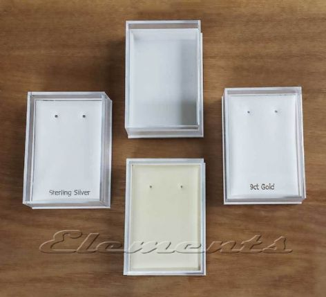 Plastic Clear Lid Display Boxes With Pads P008